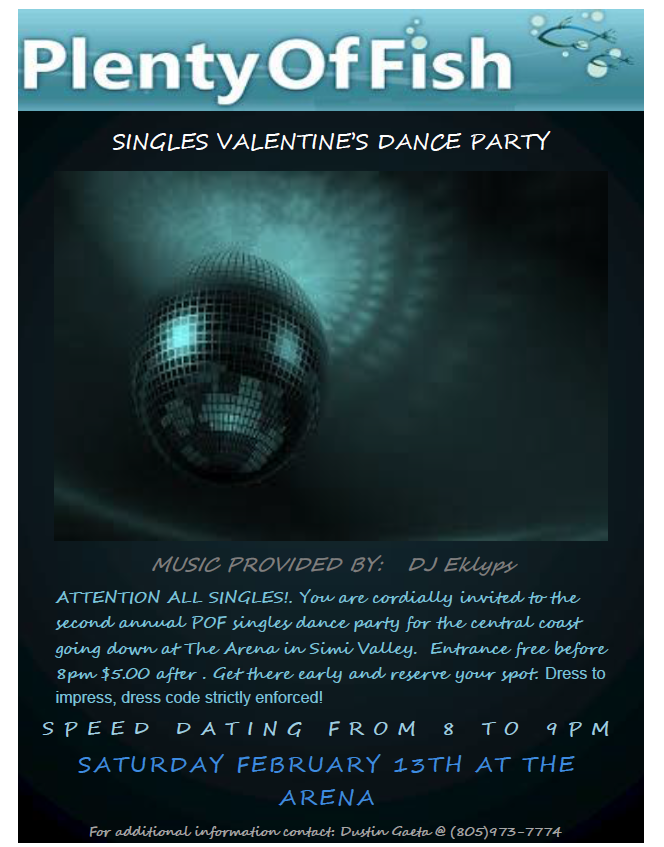 POF VALENTINES DAY DANCE PARTY