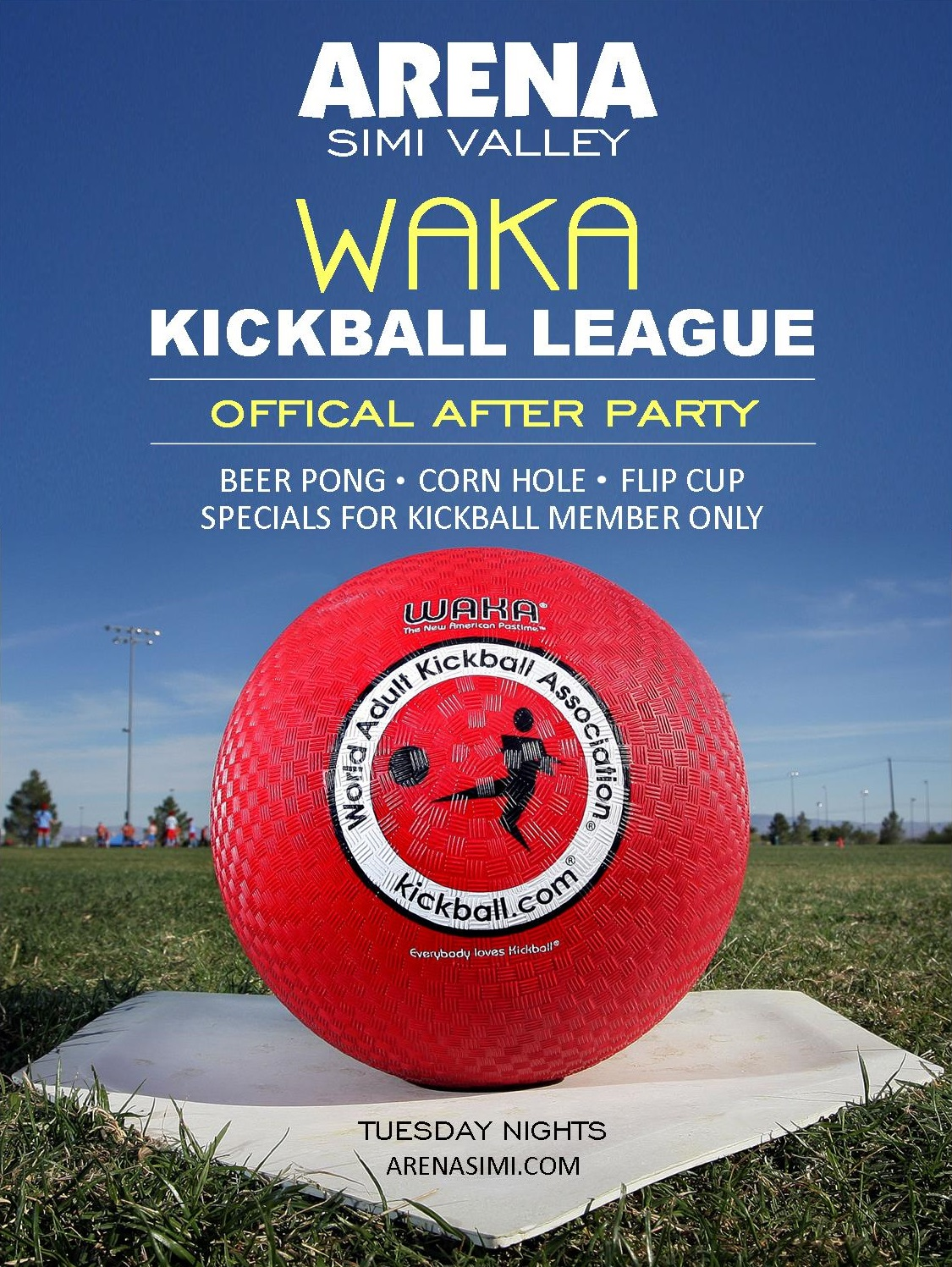 WAKA KICKBALL TUESDAY